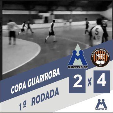Asmetrô estreia com derrota na Copa Guariroba