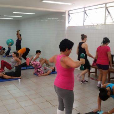 Participe das aulas de ginástica localizada!