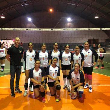 Equipe de Vôlei Feminino da Associação estreia em jogos oficiais