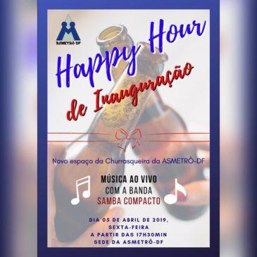 Happy Hour – Inauguração Churrasqueira