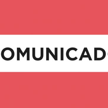 Comunicado de desligamento